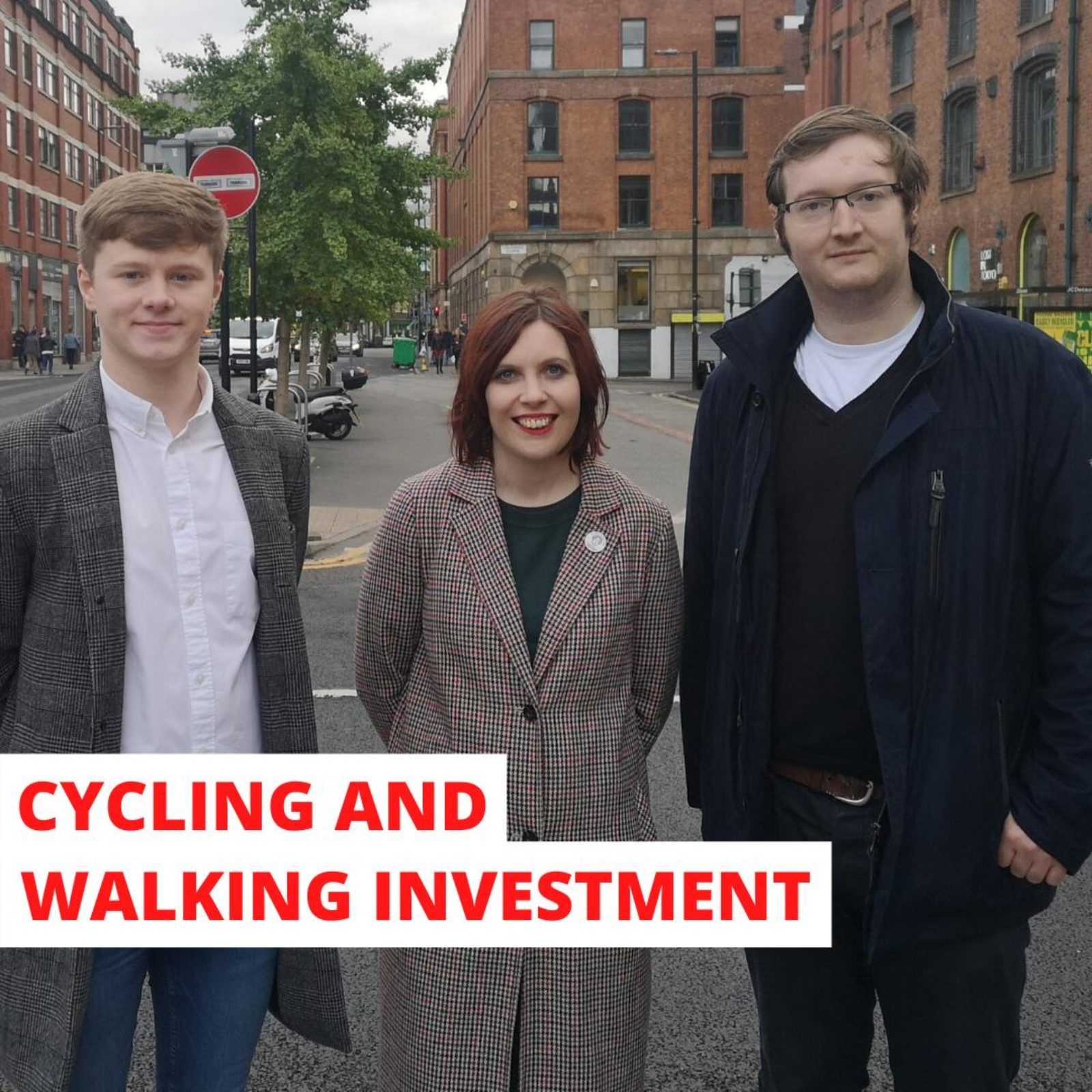 Piccadilly Labour Councillors have been campaigning for the pedestrianisation of Stevenson Sqaure since 2018